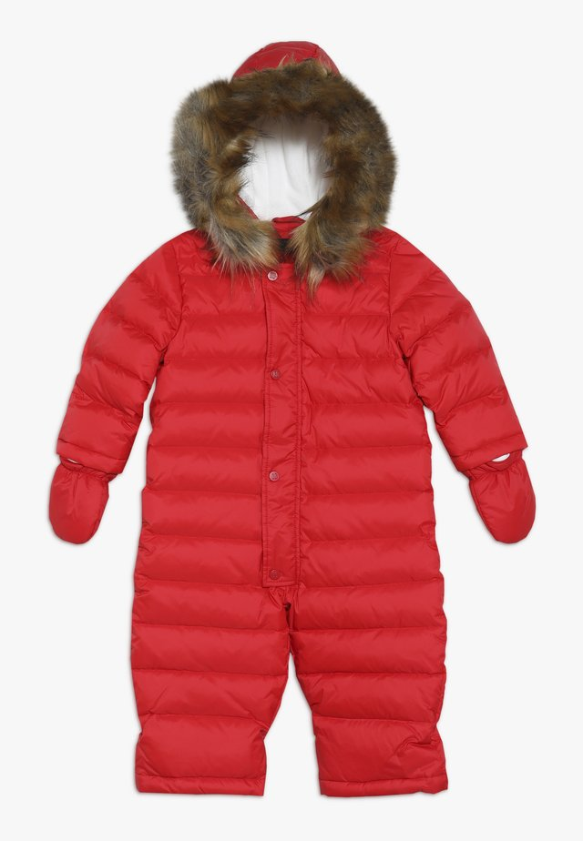 Snowsuit - chily red