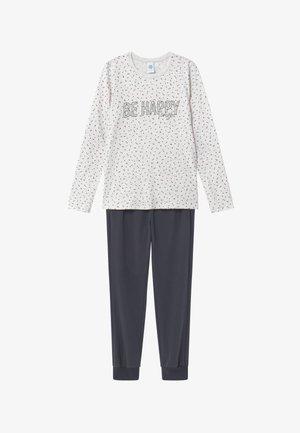 PYJAMA LONG - Pyjama set - ecru melange