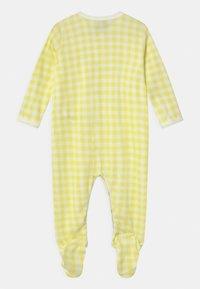 Petit Bateau - DORS BIEN 2 PACK - Sleep suit - white/yellow/blue - 1