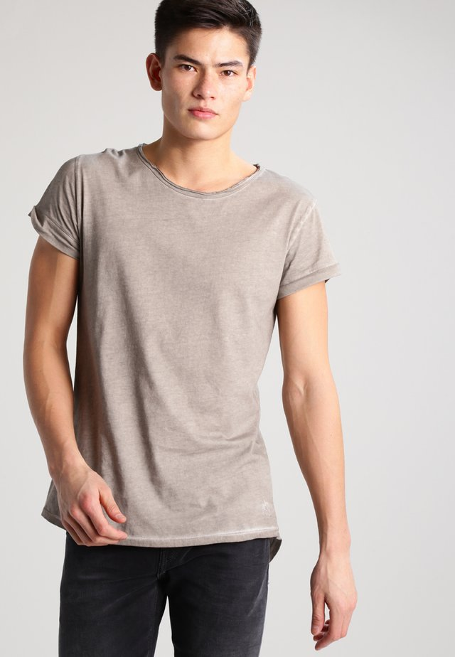 MILO - Jednoduché triko - vintage mud