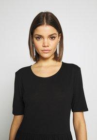 JDY - JDYDALILA FROSTY - Jersey dress - black - 3