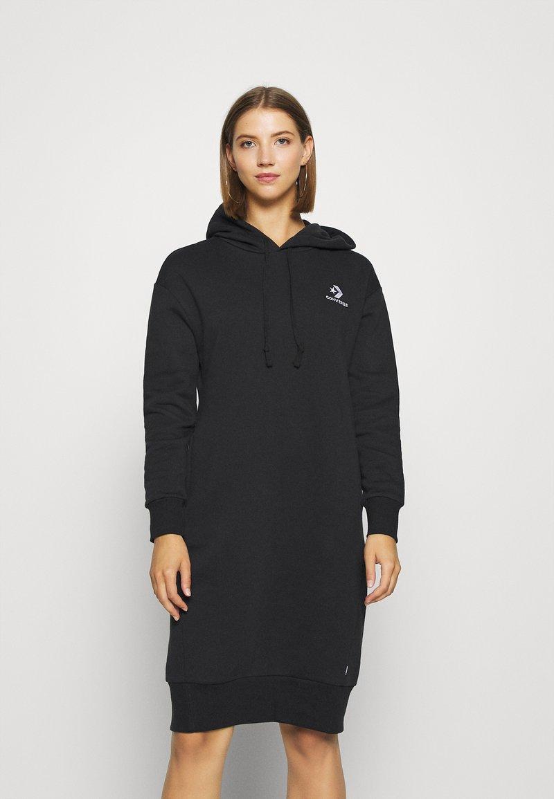 Converse - STAR CHEVRON DRESS - Kjole - black