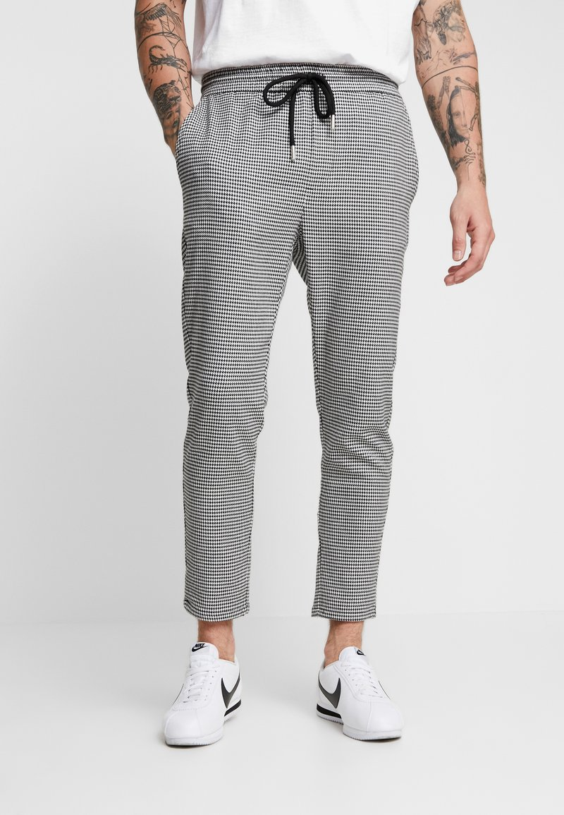 Only & Sons - ONSLINUS CHECK  - Trousers - white
