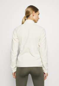 The North Face - WOMENS GLACIER ZIP - Fleecepullover - vintage white - 2