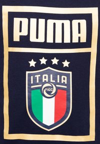 Puma - ITALIEN FIGC PUMA DNA TEE - National team wear - peacoat/team gold
