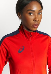 ASICS - WOMAN SUIT - Tracksuit - real red - 5