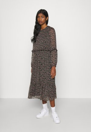 YASMIRA MIDI DRESS  - Kjole - black