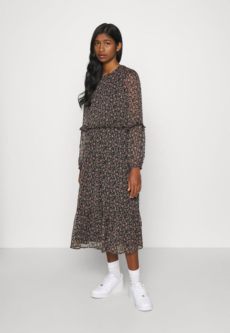 YAS - YASMIRA MIDI DRESS  - Day dress - black