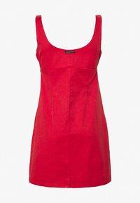 Afends - ROMY - Denim dress - flame red - 1
