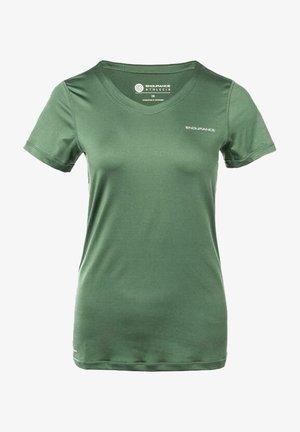 MIT QUICK DRY-TECHNOLOGIE - Basic T-shirt - balsam green