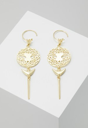 EARRINGS - Korvakorut - gold-coloured