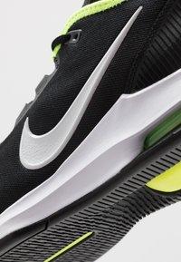 Nike Performance - NIKECOURT AIR MAX WILDCARD - Multicourt tennis shoes - black/white/volt - 5