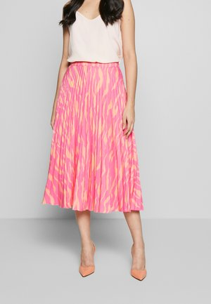 JEN ZEBRA - A-line skirt - strawberry pink