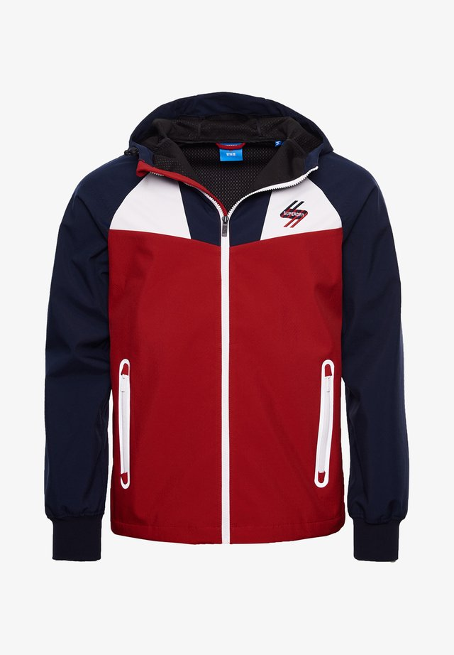 ECHO BEACH COLOURBLOCK - Light jacket - red/white/navy