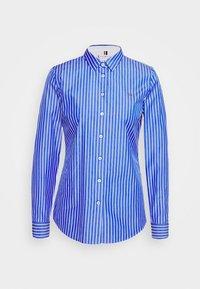 Tommy Hilfiger - SONYA - Button-down blouse - blue/white - 3