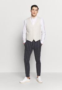 Gianni Lupo - PANTS - Oblekové kalhoty - blue - 1