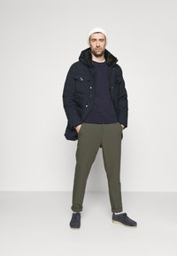 Tommy Hilfiger - REMOVABLE HOODED - Parkatakki - blue - 1