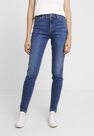 SCARLETT HIGH - Jeansy Skinny Fit - mid copan