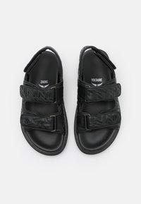 Zadig & Voltaire - ALPHA GRUNGE - Sandals - noir - 4