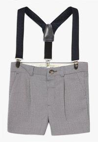 River Island - GREY CHECK SUIT - Shorts - grey - 2