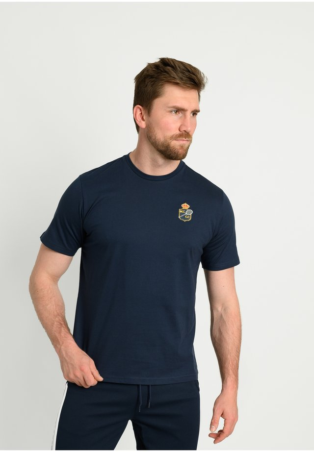 FREDONIA/MC/MCH - T-shirt imprimé - navy/white