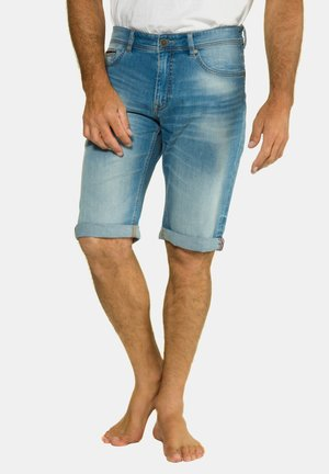 Jeans Shorts - bleached denim