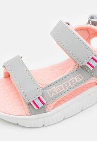 Kappa - Walking sandals - light grey/rosé - 5