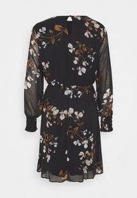 Vero Moda - VMSMILLA DRESS  - Day dress - black/hallie - 1