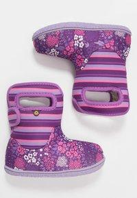 Bogs - BABY GARDEN - Winter boots - purple/multicolor - 0