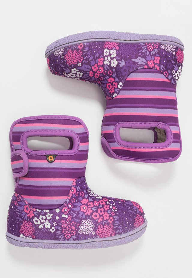 BABY GARDEN - Winter boots - purple/multicolor
