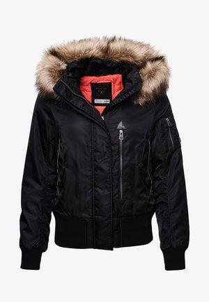 HOODED FLIGHT - Winterjas - black