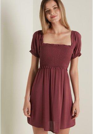 Day dress - braun - pink brown