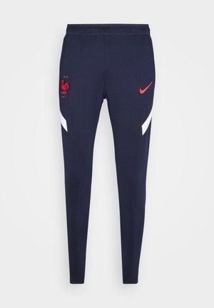 FRANKREICH FFF DRY PANT - National team wear - blackened blue/white/university red