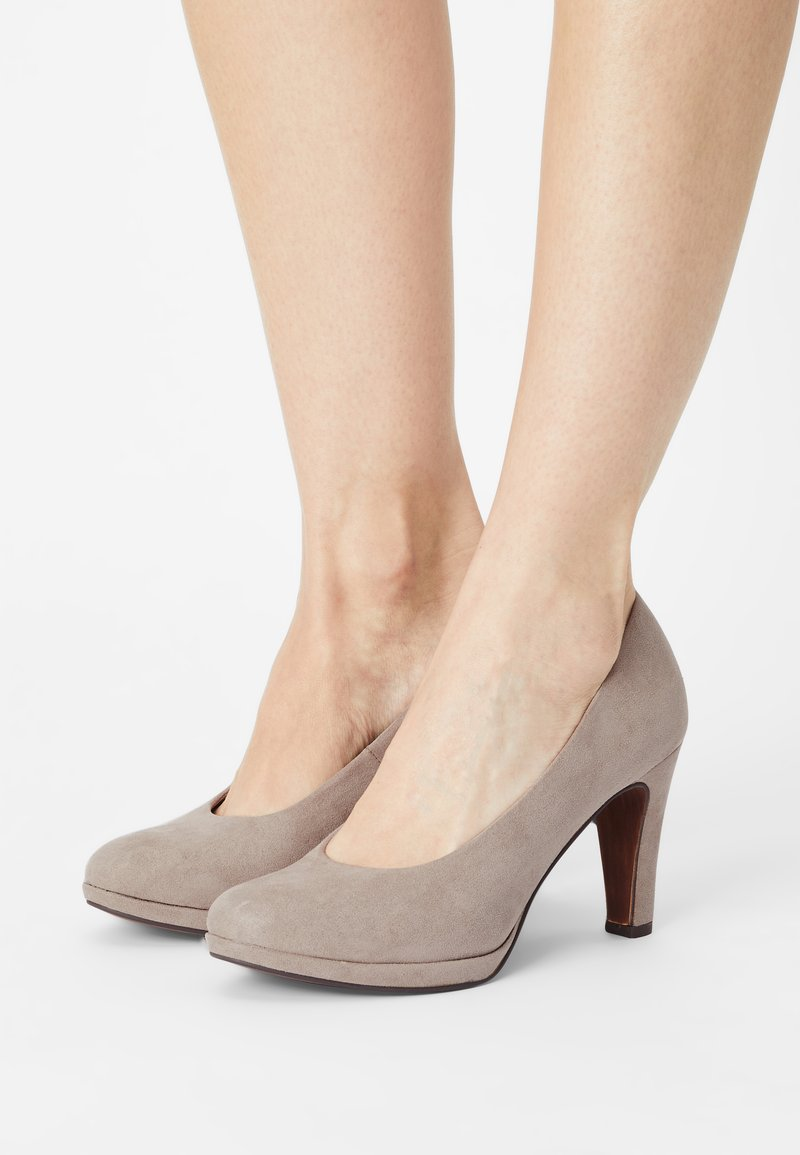 Marco Tozzi - Classic heels - taupe