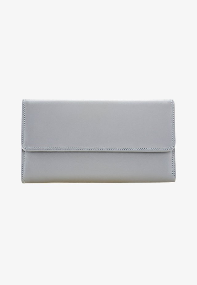 TRI FOLD WITH OUTER ZIP - Wallet - gray
