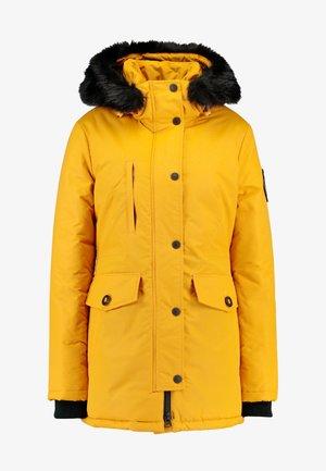 ASHLEY EVEREST - Winter coat - amber ochre