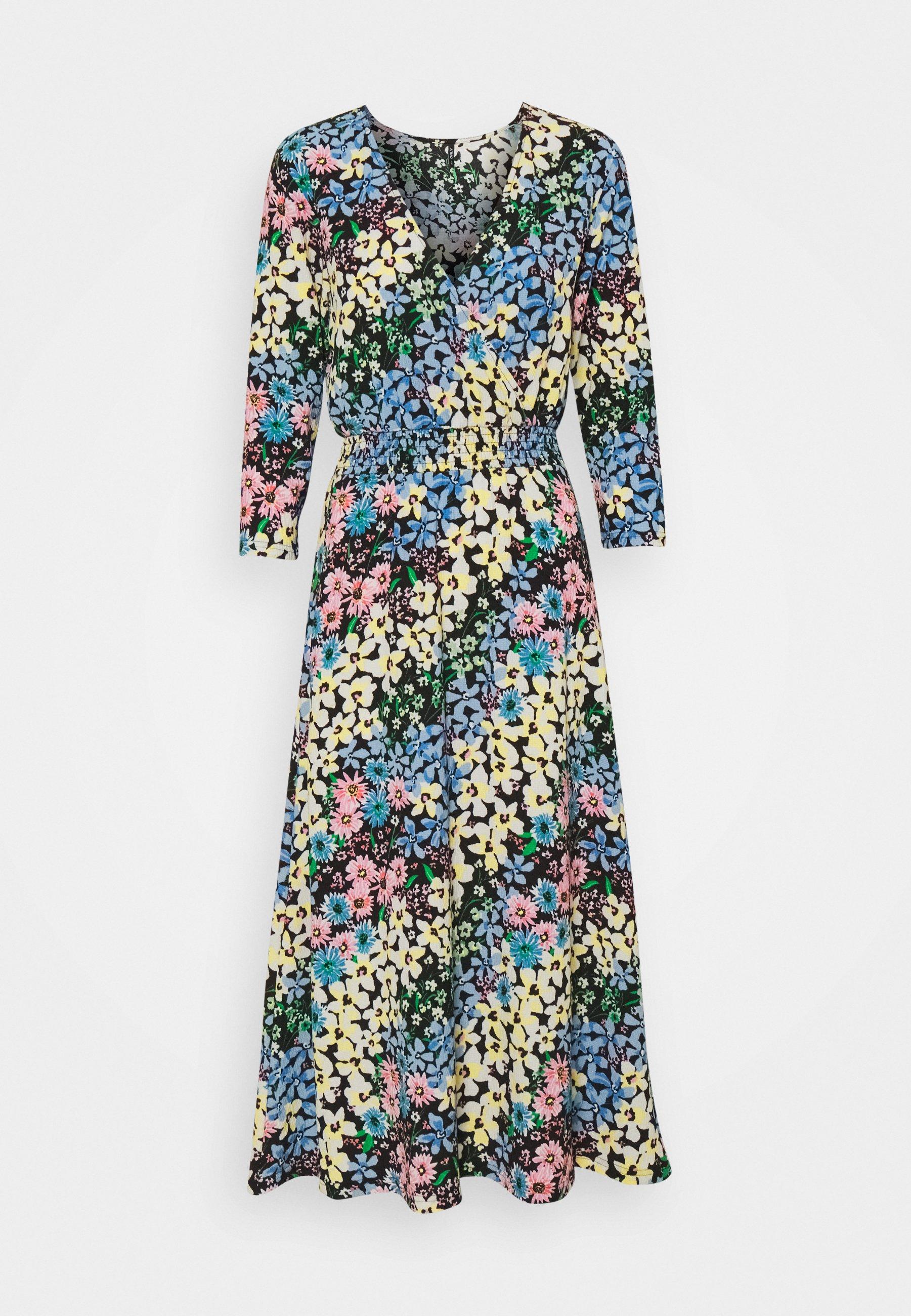 Women ONLSAGA WRAP DRESS - Day dress