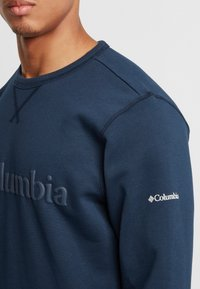 Columbia - Logo Crew - Bluza - collegiate navy puff logo - 4