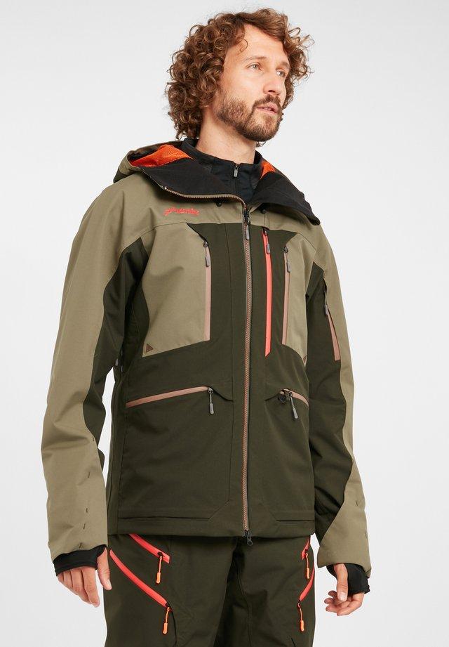 Snowboardjas - khaki