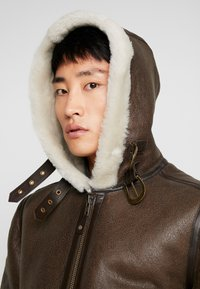 Schott - Leather jacket - brown - 3