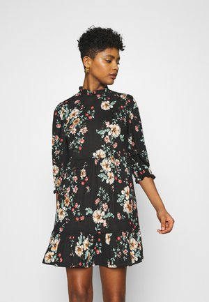 ONLZILLE NAYA HIGHNECK DRESS  - Robe d'été - black