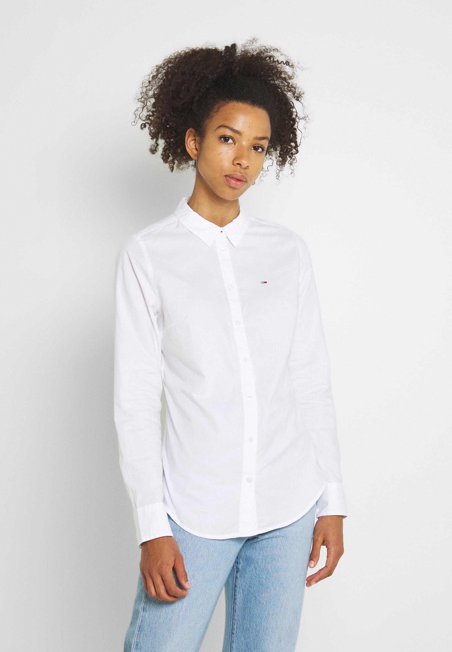 Women SLIM FIT OXFORD SHIRT - Button-down blouse