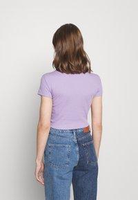Even&Odd - Basic T-shirt -  mottled lilac - 2