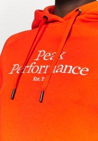 Peak Performance - ORIGINAL HOOD - Felpa - super nova - 4