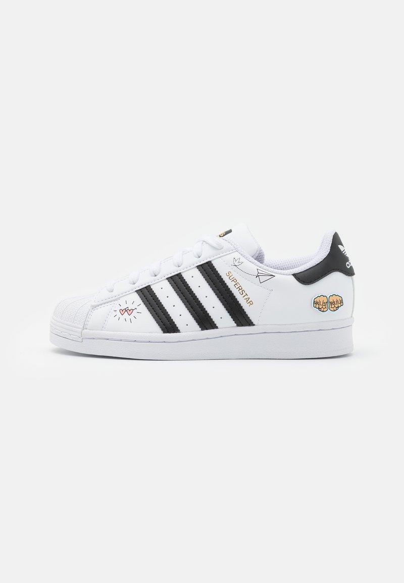 adidas Originals - SUPERSTAR - Zapatillas - footwear white/core black/gold metallic