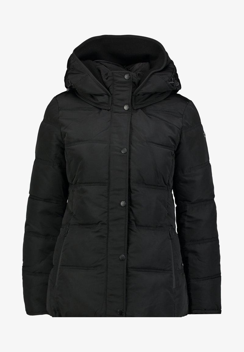 Esprit Vinterjakke black Zalando.no