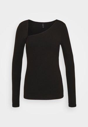 YASZEMMA - T-shirt à manches longues - black