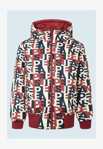 MAYAH - Winter jacket - johannisbeere