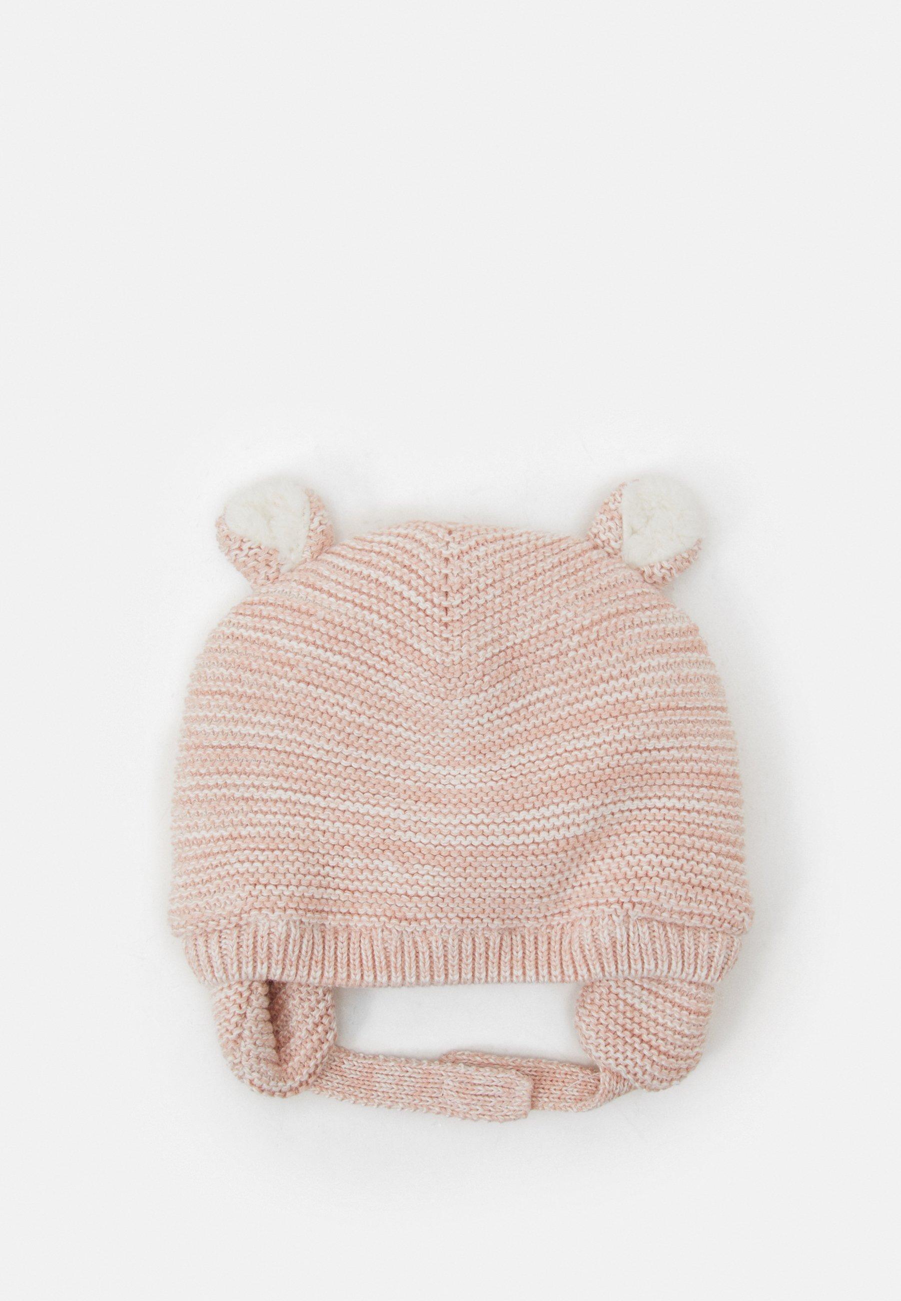 Kinder LINED GARTER HAT UNISEX - Mütze - chalk pink
