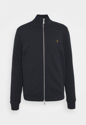 BOWMONT - Zip-up sweatshirt - true navy